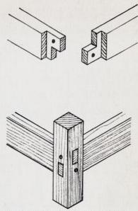 Tyldalsstolen detalj