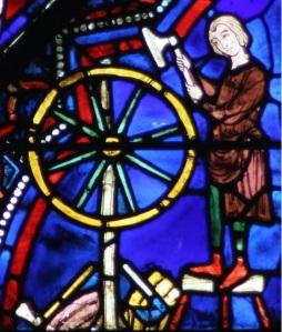 Hjulmaker 1215-25, chartres