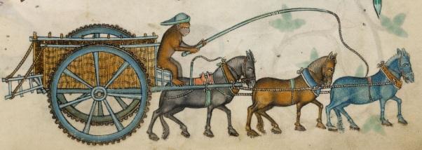 Luttrell psalter 162r (landbrukskjerre)