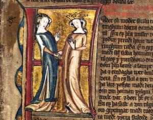 Hardenbergs codex fol 24r (overskjortel med splitt)